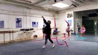 Rhythmic Gymnastics Class for Beginners