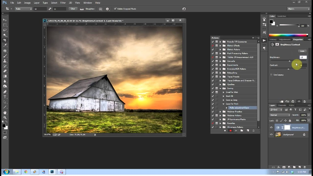 How to Save a Photo for Print in Photoshop CC YouTube