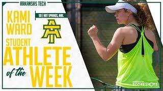 Arkansas Tech Student Athlete of the Week - Kami Ward
