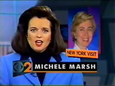 WCBS NY NEWS -November 9, 1993-Carol Martin, Michele Marsh