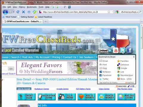 DFW Free Craigslist Alternative - Get Your Ads Noticed from YouTube · Duration:  3 minutes 25 seconds