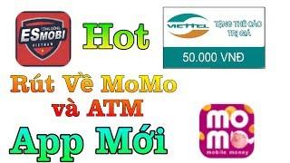 Ứng Dụng Mới Kiếm Tiền Mặt Trên Điện Thoại Rút Về Momo ATM Thẻ Cào. Kiếm Tiền Online