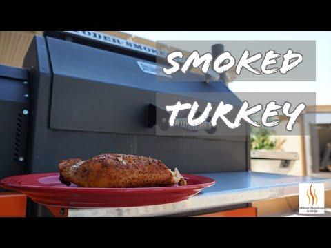 Smoked Turkey Breast On Yoder Smoker! - YS640 smoke