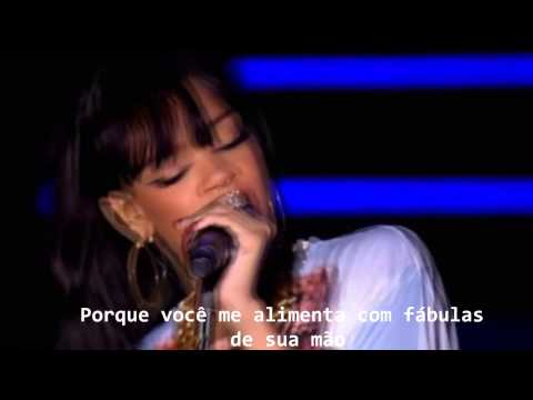 Rihanna - Love The Way You Lie - Tradução e Legendado - HD - Live Hackney Weekend
