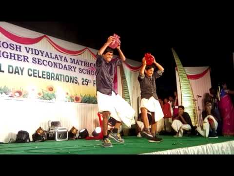 kombu vacha singamada dance  performances