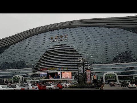 My visit in Global Center Mall in Chengdu, China