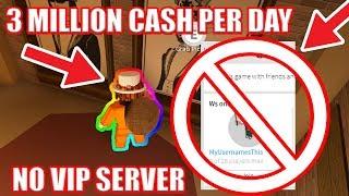 [NO VIP Server] FASTEST WAY to GET JAILBREAK CASH | Roblox Jailbreak