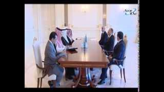 President Ilham Aliyev receives delegation of Saudi Arabian General Investment Authority