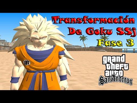 GTA San Andreas Loquendo-Un Dia con Goku  FunnyCat.TV