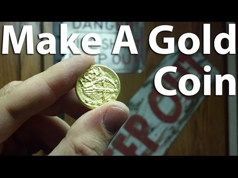 How to Make a Gold Coin (Or Anything) Using Cuttlebone Casting