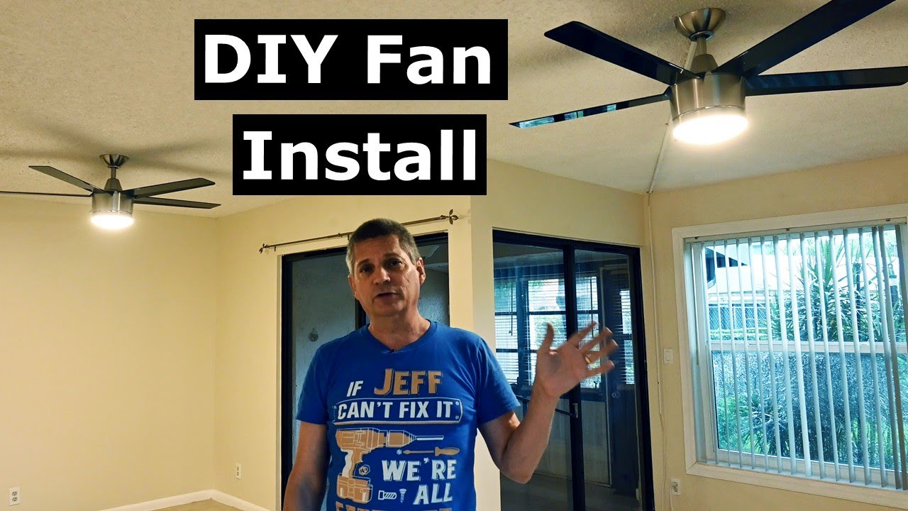 How To Install Ceiling Fans Fix Installer Errors Wobbling Fan