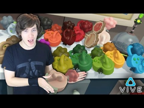 How to Pick a Healthy Plumbus (Virtual Reality HTC Vive) - Total Rick-ality | 2