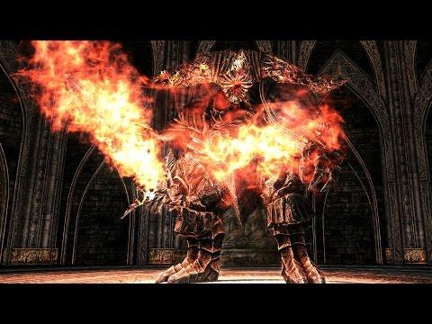 Dark Souls 2: Smelter Demon Boss Fight (4K 60fps)