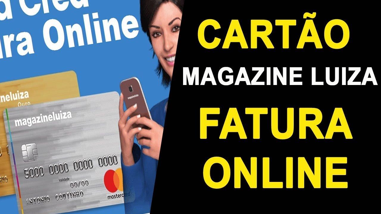 Cartao Magazine Luiza Fatura Online 2 Via Da Fatura Mastercard