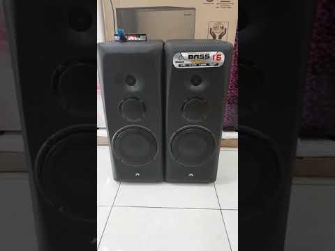 Demo Test Speaker Aktif  Roadmaster Bass16
