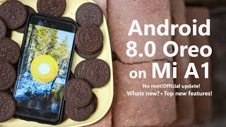 Android 8.0 Oreo on Mi A1! What