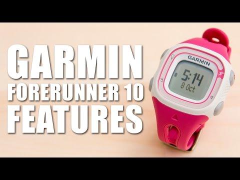 garmin forerunner 10 features
