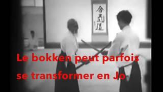 Aikiken O sensei, le bokken libéré
