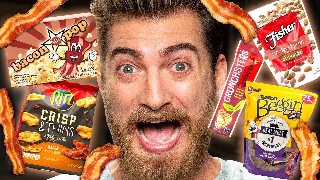 Bacon Snack Taste Test