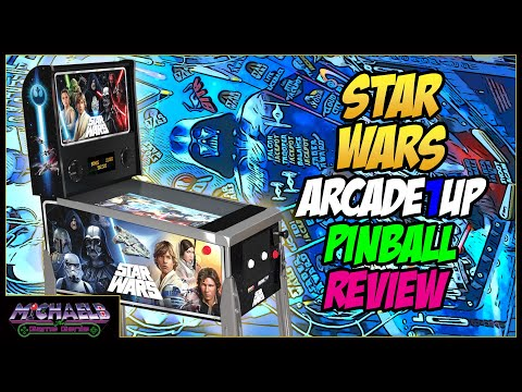 Star Wars Arcade1Up Pinball Review | MichaelBtheGameGenie from MichaelBtheGameGenie