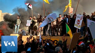 Pro-Iranian Protesters Storm US Embassy in Baghdad, Iraq