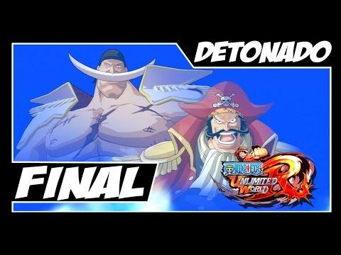 One Piece Unlimited World Red - Detonado Parte #16 - FINAL FODA!!