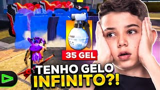 USEI O BUG DO GELO INFINITO NO FREE FIRE?!