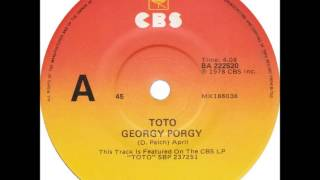 "Toto - Georgy Porgy (Dj ""S"" Bootleg Extended Classy Re-Mix)"