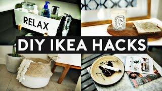 DIY IKEA HACKS | DIY Room Decor! EASY & INEXPENSIVE
