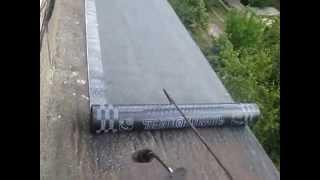 Мягкая кровля. Ремонт крыши балкона на последнем этаже(Как сделать ремонт крыши балкона своими руками из рулонных битумно-полимерных материалов. Подробная инстр..., 2015-07-07T09:17:17.000Z)