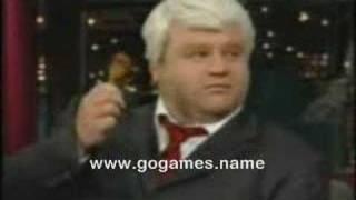 John Madden(Frank Caliendo) on Letterman www.gogames.name