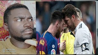 Real madrid vs Barcelone FC 0 - 1 liga 2019