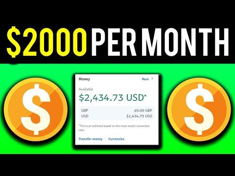 Earn $2000 Per Month With Google For Free! (Make Money Online 2019)