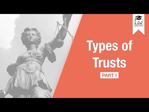 Trust Law -