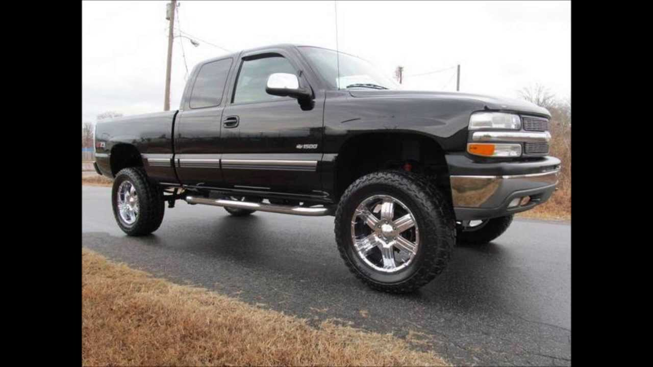 All Chevy 2002 chevy 1500 lifted : 2002 Chevrolet Silverado 1500 LT Lifted Truck - YouTube