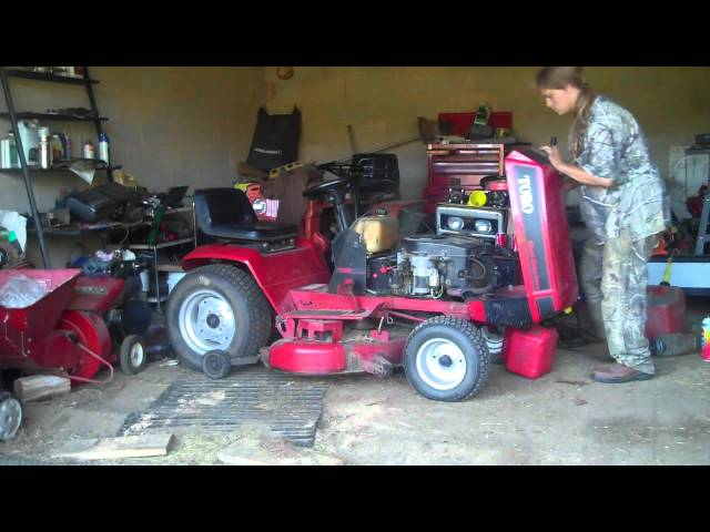 Wheel Horse 244 H Lawn Tractor Wheel Horse Lawn Tractors