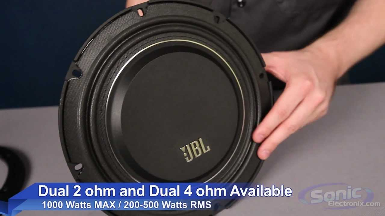 Jbl Ms Slim Series Shallow Mount Subwoofer Youtube Dual 10 Inch Jl Audio