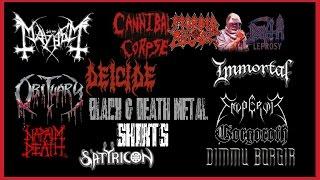 Video Black & Death Metal Shirts \,,/ download MP3, 3GP, MP4, WEBM, AVI, FLV Juni 2018