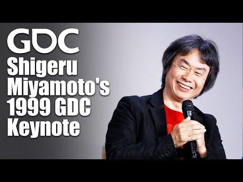 Shigeru Miyamoto's 1999 GDC Keynote