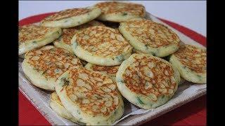 Kahvaltılık Nefis Tavada Mini Börek Tarifi ✿ Pratik Kaşık Dökmesi Tarifi