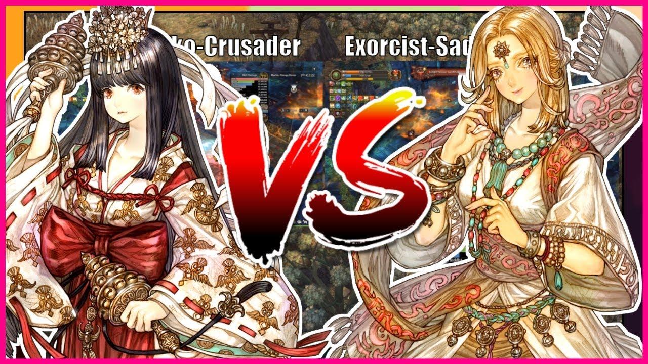 Miko vs Sadhu: Magic Build - Damage Comparison   Tree of Savior
