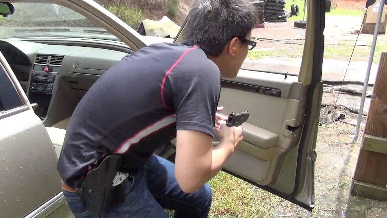 実弾射撃 トレーニング - 自動車 要人警護 (Firearms Training)