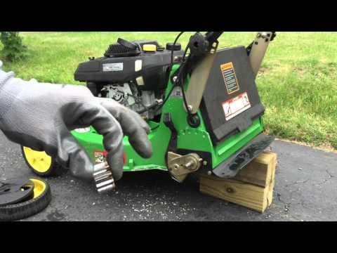 John Deere Js26 Push Mower Servicing Howto Doovi