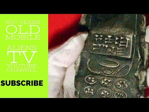 800 Years Old Cell Phone    Found In Austria   Real Or Fake  !!   Aliens Tv