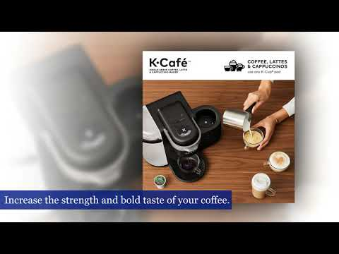 Keurig K-Cafe Single-Serve K-Cup Coffee Maker, Latte Maker and Cappuccino Maker, Comes
