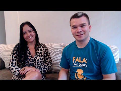 Programa Fala Teles Júnior / Elisângela Sobreira