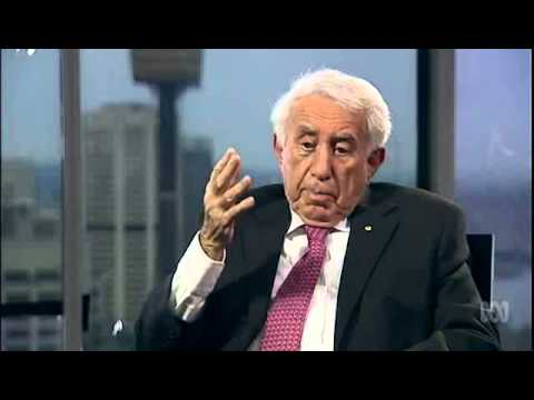 Harry Triguboff interviews on ABC One Plus One 7 Aug 15
