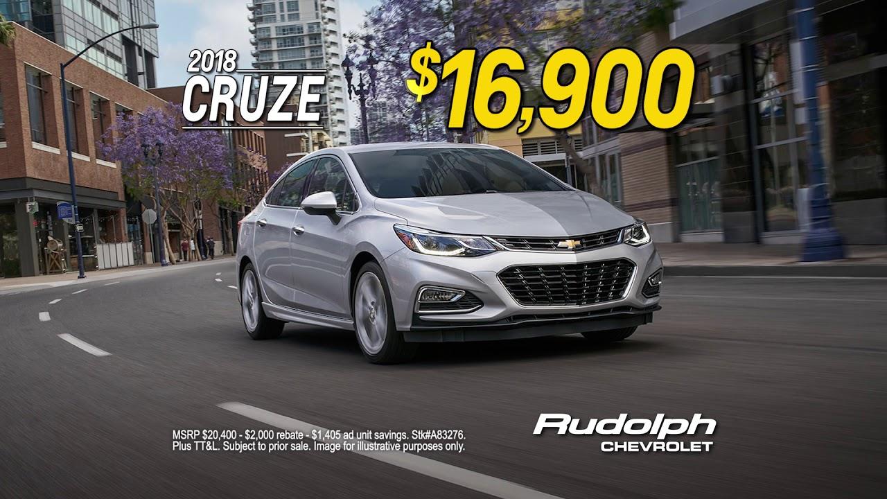 Chevy Dealership El Paso >> Rudolph Chevrolet Dealership In El Paso Tx Great Deal On 2018 Cruze