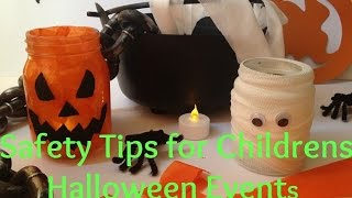 Children's Halloween Saftey Tips