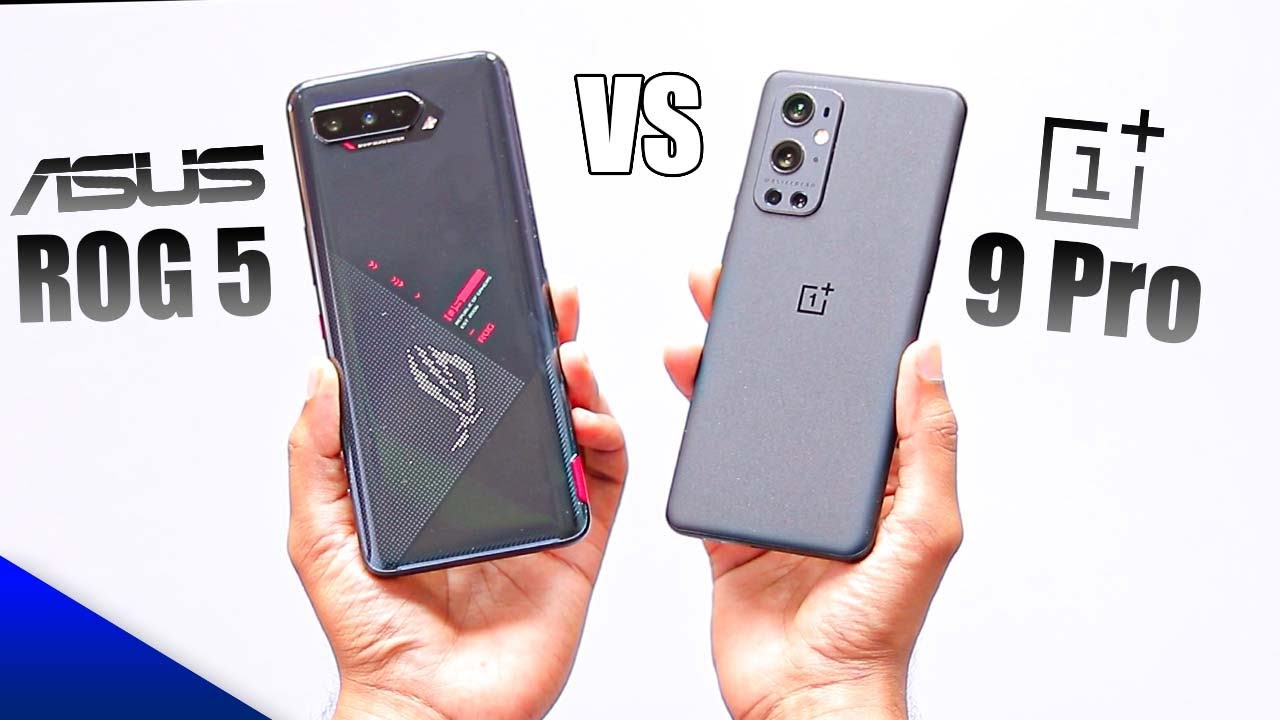 Asus Rog 5 vs OnePlus 9 Pro - Best Gaming Device !!